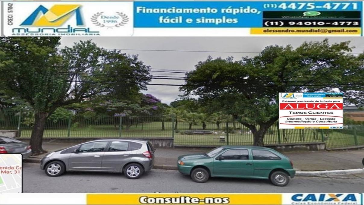 TERRENO-RUDGE RAMOS-SÃO BERNARDO DO CAMPO - SP